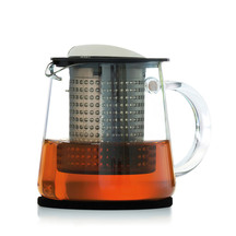 Finum Glass Teapot with Infuser Control -  400ml