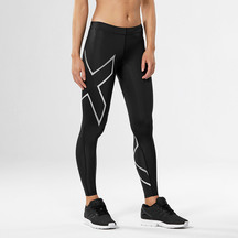 2XU Compression Tights- Black/Silver