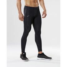 2XU Mens Compression Tights - Black/Nero