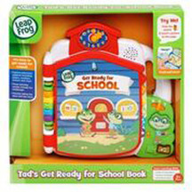 Leapfrog Tad's Get Ready for Preschool Book