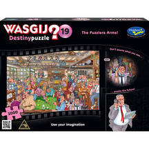 Wasgij Destiny #19 1000 Piece Jigsaw Puzzle The Puzzlers ...