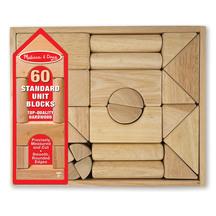 Melissa and Doug Standard Unit Blocks Set