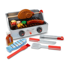 Melissa and Doug Rotisserie Grill and BBQ Set