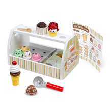 Melissa and Doug Ice Cream Scoop and Serve Counter