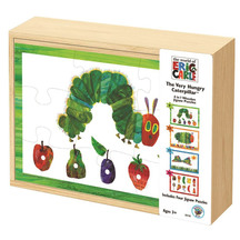 Eric Carle VHC 4 in 1 Wood Puzzle Box