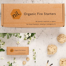 nil Organic Firestarters 2 Pack