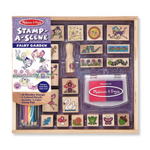 Melissa and Doug Stamp-a-Scene Fairy Garden