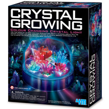 4M Science Crystal Growing Colour Changing Crystal Light