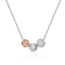 Kagi Sterling Silver Sunset Trio Necklace