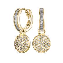 Kagi Gold Cosmos Ear Charms