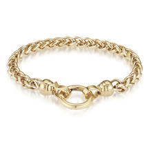 Kagi 18k Gold Helix Bracelet Medium