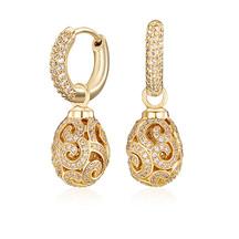 Kagi 18k Gold Imperial Ear Charms