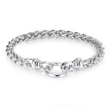 Kagi Silver Helix Chain Bracelet Medium