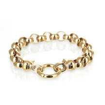 Kagi 18k Gold Steel Me Bracelet Medium