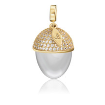 Kagi Gold/Silver Acorn Pendant