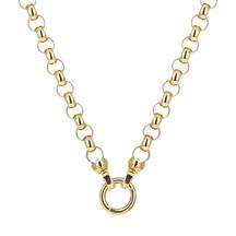 Kagi 18k Gold Steel Me Necklace 49cm