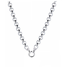 Kagi Silver Steel Me Necklace 49cm
