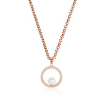 Kagi 18k Rose Gold Chanel Pendant