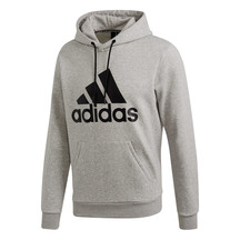 Adidas Badge of Sport Hoodie Grey/Black