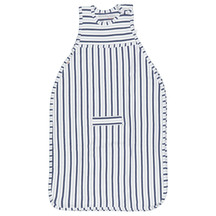 Merino Kids Go Go Bag - Duvet Weight Denim-Grey-Stripe