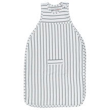 Merino Kids Go Go Bag - Duvet Weight Flint-Grey-Stripe