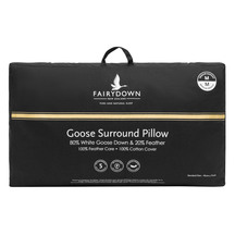 Fairydown Goose Surround Standard Pillow 80/20 - Medium