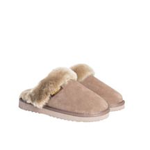 Kiwi Gear Juliet Sheepskin Scuff - Stone