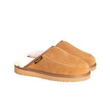 Kiwi Gear Conway Mens Sheepskin Scuff - Chestnut