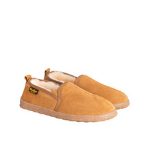 Kiwi Gear Kirby Mens Sheepskin Slipper - Chestnut