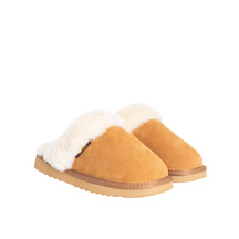 Kiwi Gear Juliet Sheepskin Scuff - Chestnut