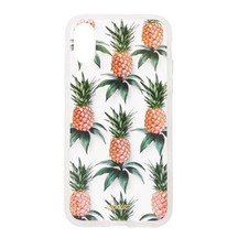 SONIX Clear Coat for iPhone X/XS - Pink Pineapple