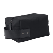 Citta Leather and Nylon Wash Bag