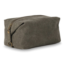 Citta Cadet Waxed Canvas Wash Bag