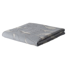 Citta Whale Of A Time Muslin Cot Blanket