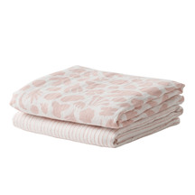 Citta Secret Garden Organic Cotton Muslin Wrap S/2