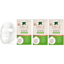 A'kin Tea Tree Oil Detoxifying Face Mask x3