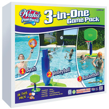 Wahu Pool Party 3-In-One Game