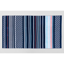 Sheridan Harbourview Beach Towel - Midnight