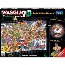 Wasgij Xmas #14 1000 Piece Jigsaw Puzzle Santas Little He...