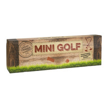 Wooden Mini Golf Garden Game