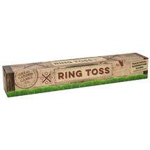 Wooden Ring Toss Garden Game