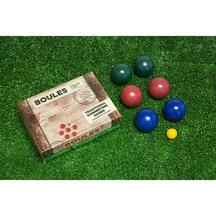 Wooden Boules Garden Game