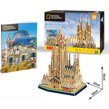 3D National Geographic City Traveller Puzzle
