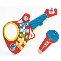 Hape 6-in-1 Music Maker & Echo Microphone