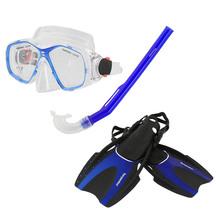 Torpedo7 Adults Snorkeling Set - Blue