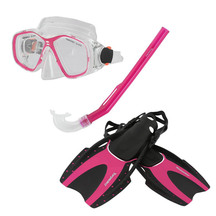 Torpedo7 Junior Snorkeling Set - Pink