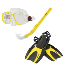 Torpedo7 Junior Snorkeling Set - Yellow