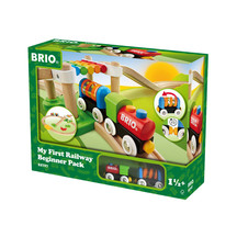 BRIO My First - My First Railway Beginner Pack - 18 pieces