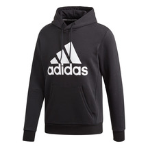 Adidas Badge of Sport Hoodie - Black/White