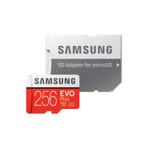 Samsung EVO Plus microSDXC Card 256GB